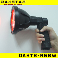 DAKSTAR DAHTB-RGBW handheld hunting spotlight red,green,blue,white riflescopes hunting tactical