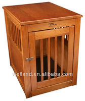 Large End Pet House Table Crate Cage Kennel J