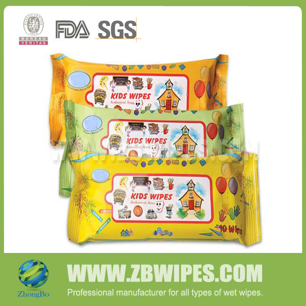 Hot Selling Sanitizing OEM Doll Face and Hands Wet Wipes