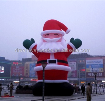 2019 Hot sale inflatable santa claus, christmas inflatable for decoration