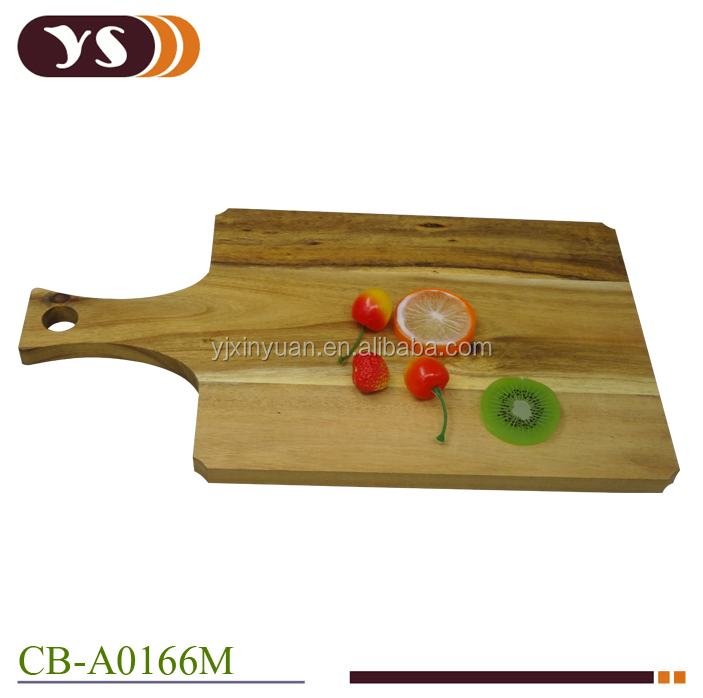 Simple design wooden cutting board for the kitchen