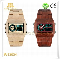 Fashion High quality natural wood watch bewell wooden watch