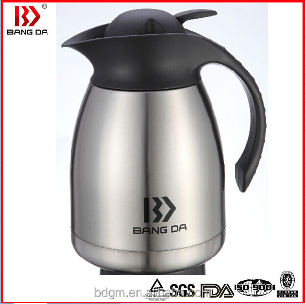 Stainless steel Vacuum Coffee Pot,widemouthed designed