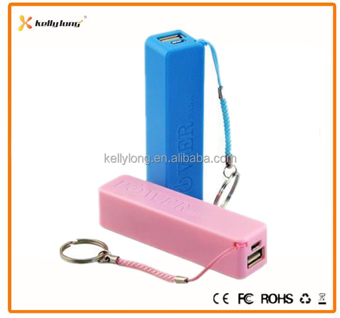 Low Price Perfume Keychain Mobile Power Bank, promotion portable Power Bank 2600 mAh 2200mAh 2000mAh