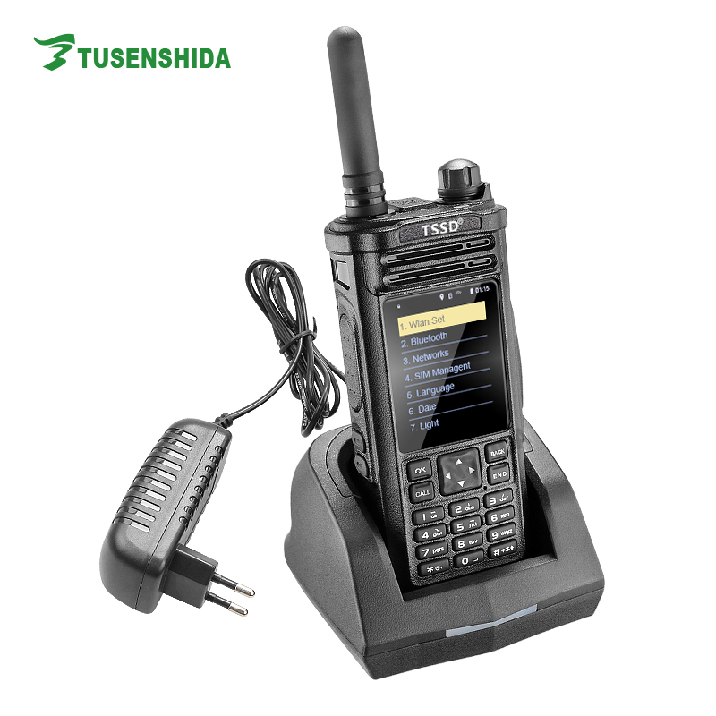 100 mile police radio TS-W988 GPS and wifi walkie talkie for sale