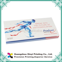 Custom printed self adhesive cover custom book printing with perforation