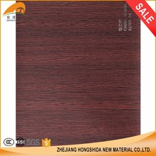 Wood Grain Lamination Pvc Membrane Decoration Foil