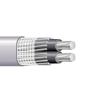 Two/Three/Four Cores Al Cu CCA Core Split Concentric Cables Meeting all standards