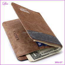 Free Shipping by DHL/FEDEX/SF Fashion Men's Wallets Denim Canvas small Wallet