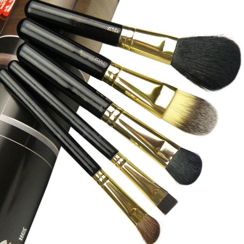Professional high quality factory direct mini travel 5pcs cosmetic make up brushes kit/set