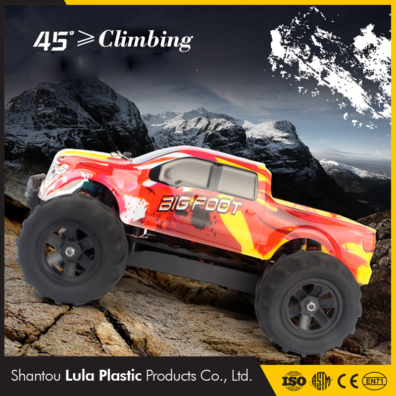 2.4G 4CH 4WD Rock Crawlers 4x4 Driving Car Bigfoot Remote Control Car Model Off Road Vehicle Toy High Speed Rc Car Kit