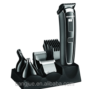 Professional Rechargeable beard trimmer & hair clipper cutting machine