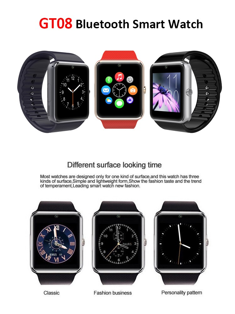 Hot selling touch screen Android Smart Watch 2016 with Sleep Monitor