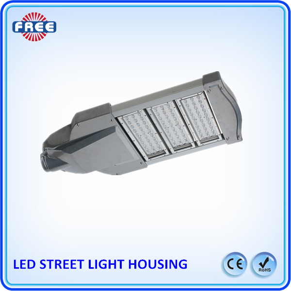 Aluminum led fixture IP65 60w led street light die casting part
