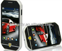 F599 with android 4.0 OS MTK6515 CPU Dual Sim Cards WIFI Bluetooth RAM 256MB ROM 128MB Black 3.4 inch Dual CAM cheap phone