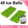 RJSILICONE Durable Silicone Ice Tray Flexible