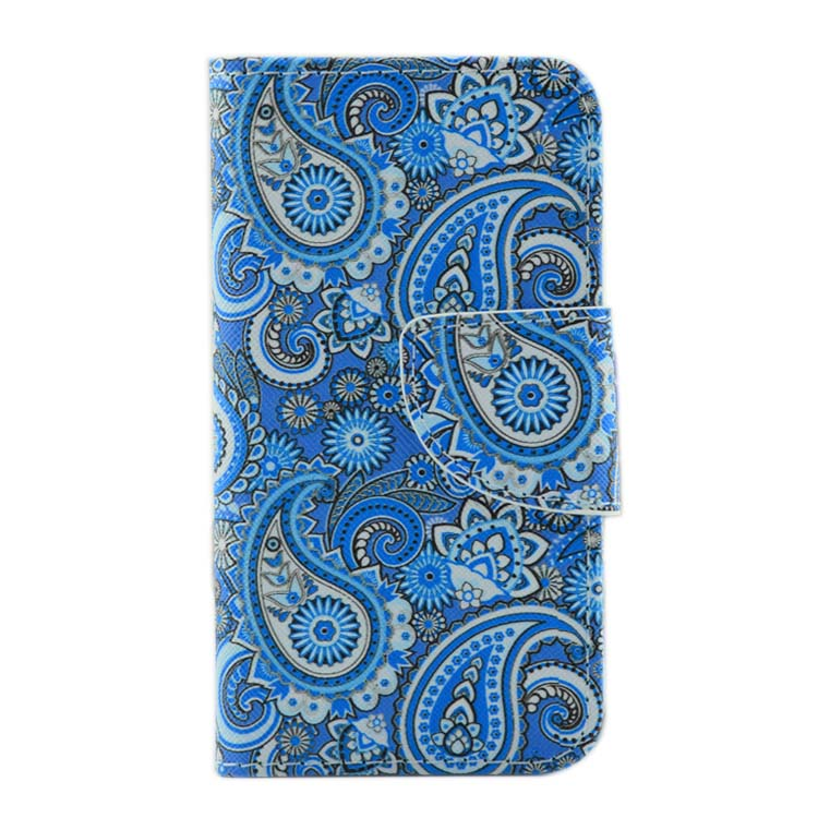 Wallet card slot colorful phone case for iphone 6 leather flip case cover