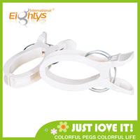 New white Plastic Laundry Clamp Large Size Super Laundry Clips