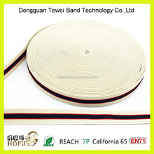 Stretch jacquard woven webbing flat/embossed/elastic band and elastic tape