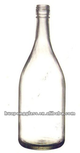clean and bright wine Bottle