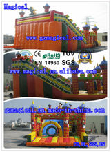 kids & adults entertainment toy/ inflatable large slide with combo and obstacle