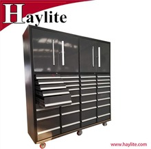 Powder coated metal drawer trolley tool boxes used cabinets and chest