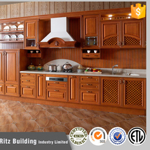 Customized italian kitchen cabinet for project
