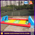 water inflatable football soccer field