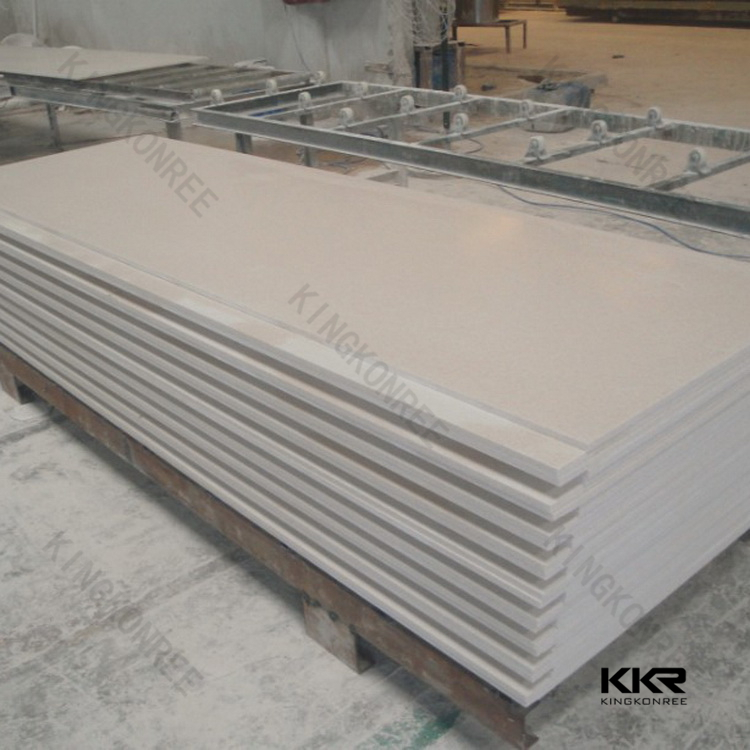 super white solid surface , polymarble solid surface , poly stone