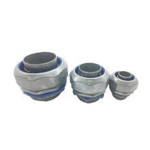 UL approved liquid tight flexible conduit tube fitting zinc straight duct connector