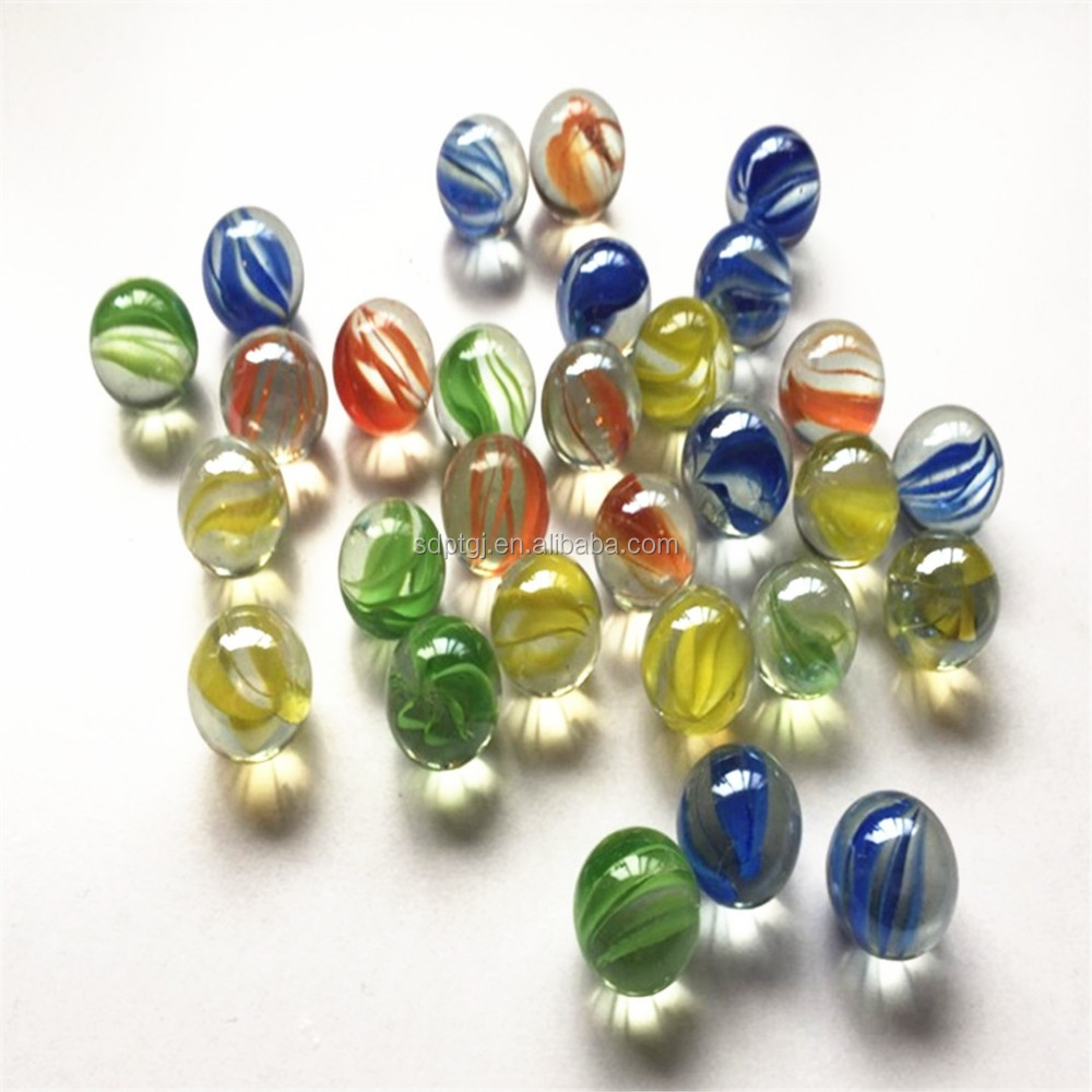 Factory supply colorful glass ornament beads paint beads