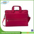 2016 New Style Red Custom Ladies Laptop Bag