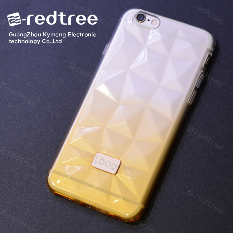 Diamond Shape Cell Phone Covers for Girls of Case Cover for Huawei P6