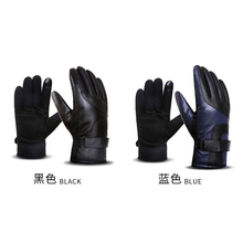 leather men glove high quality water proof design motorcycle riding used men leather glove