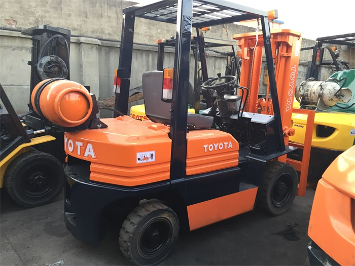 Excellent Working Condition With Good Price Japan Original Toyota 5FD30 3 Ton Used Forklift