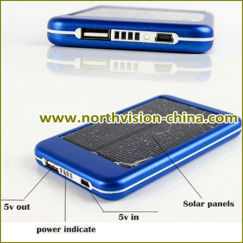5000mAh power bank, factory sales solar power charger 5000mah with low power indicate, mobile power bank 5000mAh