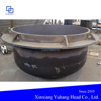 Spherical bottom Lead molten furnace head for Lead smelting industry