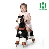 CE cartoon ride horse toy pony cute ride on furry animal animal