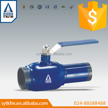 factory directly sale water gas oil medium thread & welding standard fully welded ball valve