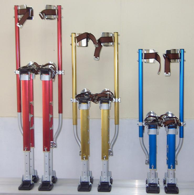 Adjustable Aluminum Drywall Stilts