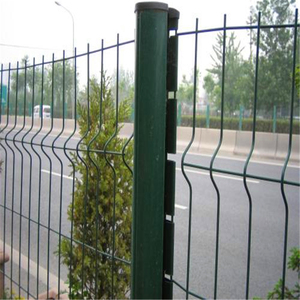 Best price welded hot dip galvanized plastic coated nylofor 3d white wire mesh fence/electric galvanized welded wire mesh panel