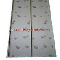 Interior decorative Hot stamped pvc wall and ceiling panel