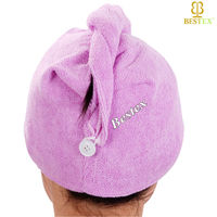 Washable Removal Elastic Shower Beauty Salon Hair steamer cap