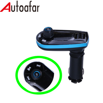T0C Wireless bluetooth car charger car mp3 player fm transmitter