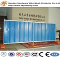 powder coating corrugated colorbond temporary fence steel hoarding