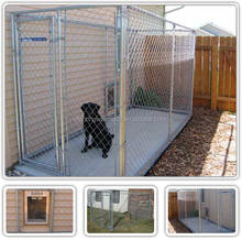 10'L*10'W*6'H large metal Chain Link Dog Run Kennel/outdoor kennel