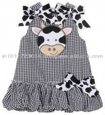 HOT SELLING CHILDREN'S FROCKS WITH CUSTOM DESIGN