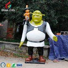 Resin Character Life Size Movie Superhero Statue for Exhibition