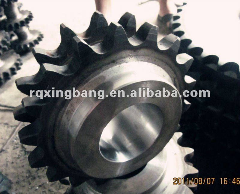 DIN 8187 machining transmission chain drive sprocket