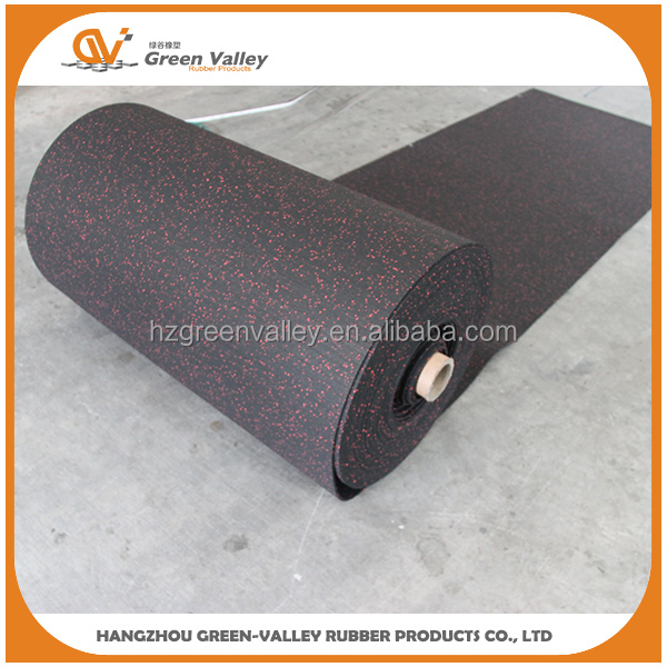 2016 New Product indoor sport waterproof floor rubber rolls mats